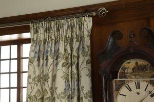 iLiv Art Deco Curtain Fabric Collection - Navy