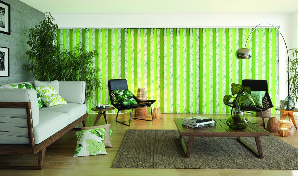 Tropicana Apple Vertical blinds