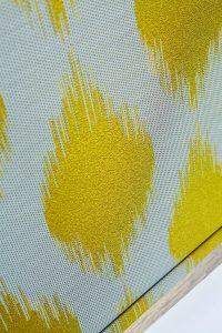 Farrah Citrine Pollergen-treated fabric