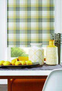 Pollergen treated for hayfever relief Highland Ochre fabric design