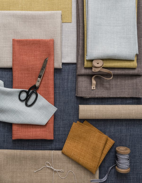 Linoso fabric by Clarke and Clarke