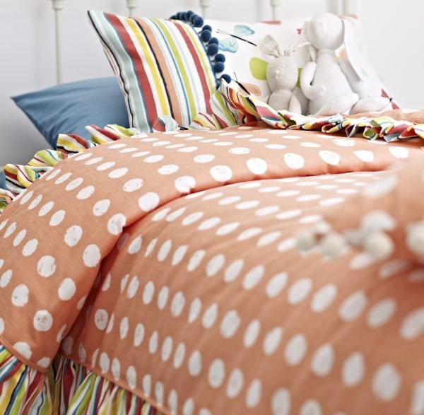 Just perfect for sleepy heads, choose this Playtime fabric from Prestigious for children's blinds