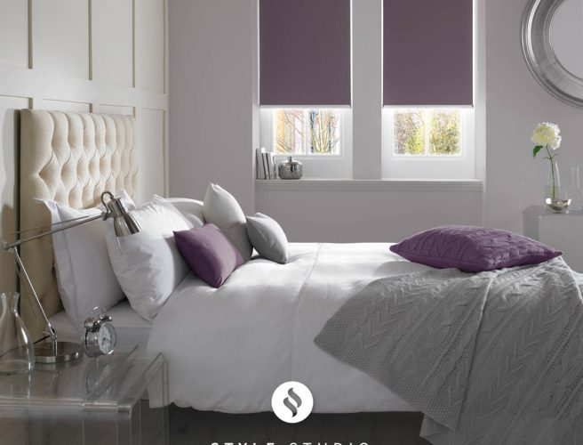 Mulberry bedroom blinds