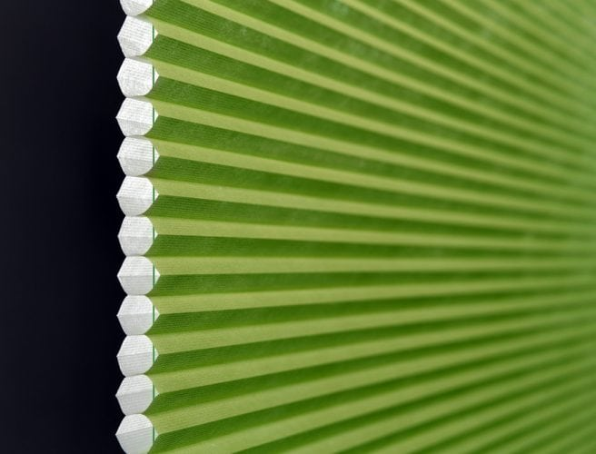 Causeway pleated blinds