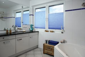 Causeway Perfect fit pleated bathroom blinds