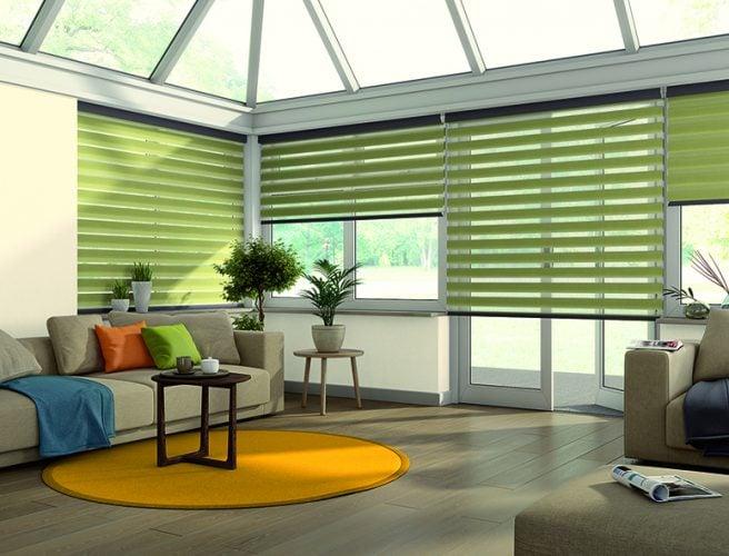 Eclipse conservatory blinds - Blinds Norfolk - Norwich Sunblinds