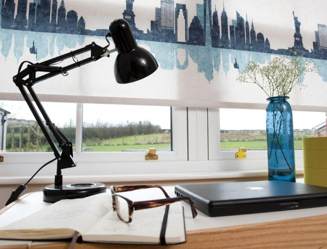 Cosmopolitan Cityscape blinds in study