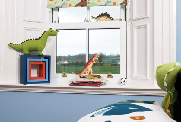 Dino design for childrens blinds