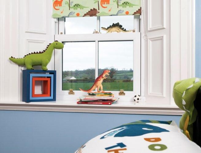 Dino design for childrens blinds