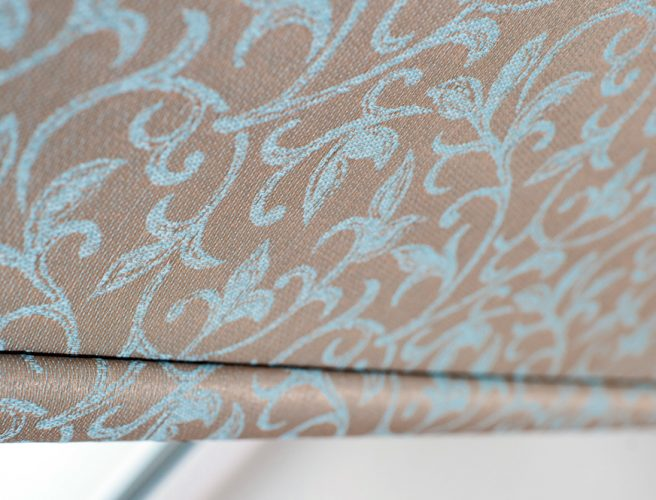 Downton textured roller blind fabric for made to measure blinds