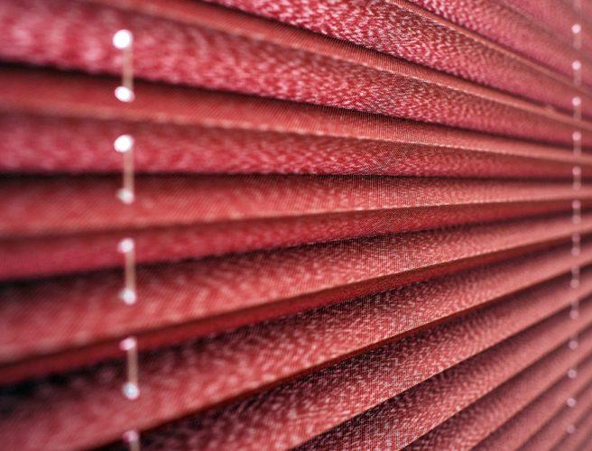 RAirwin pleated blinds
