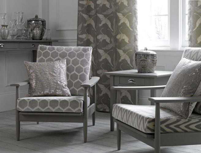 Voyage Couture Enchanted Forest range of fabrics for curtains from Norwich Sunblinds