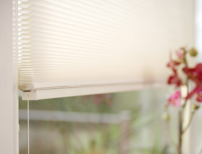 Micro pleated blinds from Eclipse