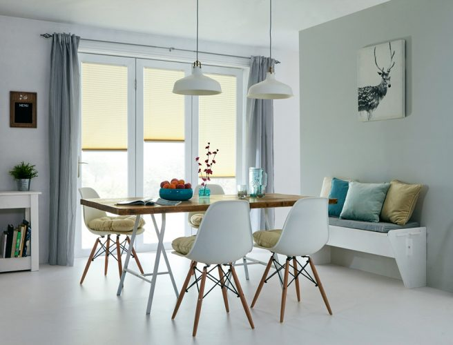 micro pleated blinds