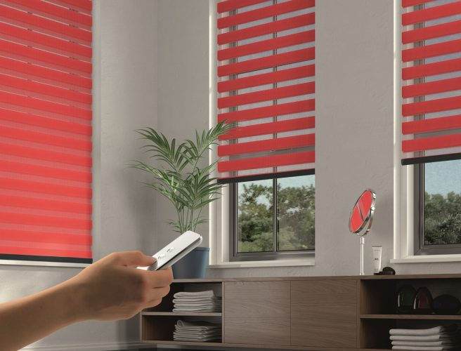 Motorised blinds for the lounge - Blinds Norfolk - Norwich Sunblinds