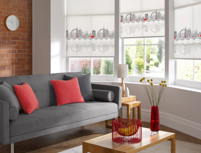 Motorised blinds for the home