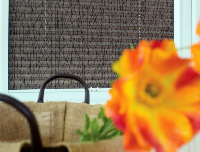 Perfect fit pleated blinds using Energy fabric from RAirwin