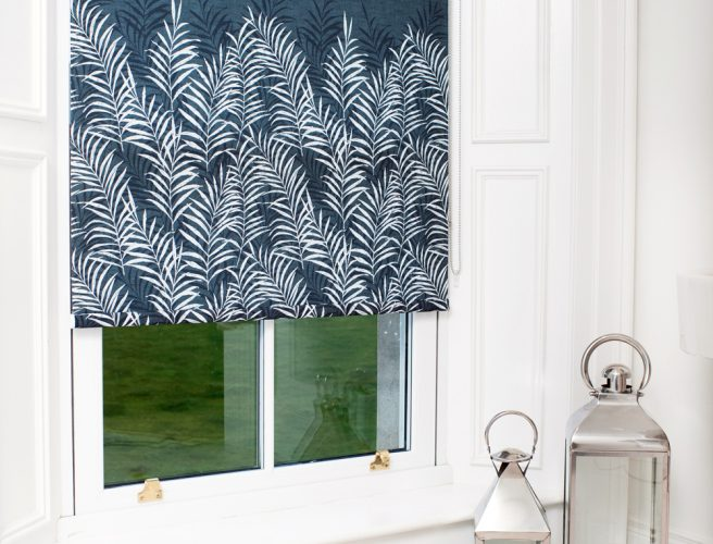 Fern design for roller blinds