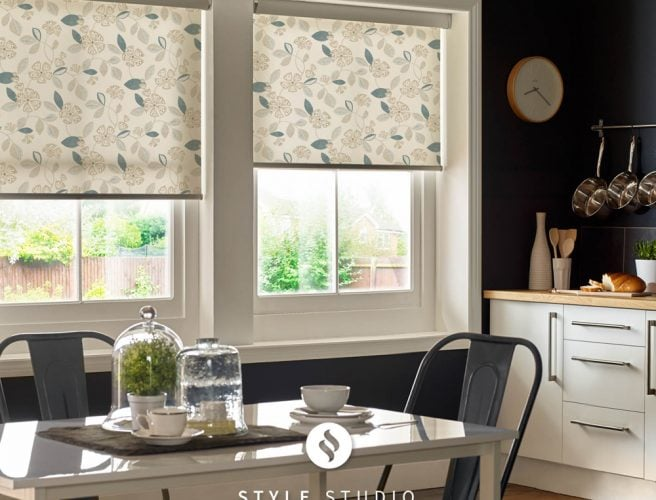 Flair kitchen roller blinds