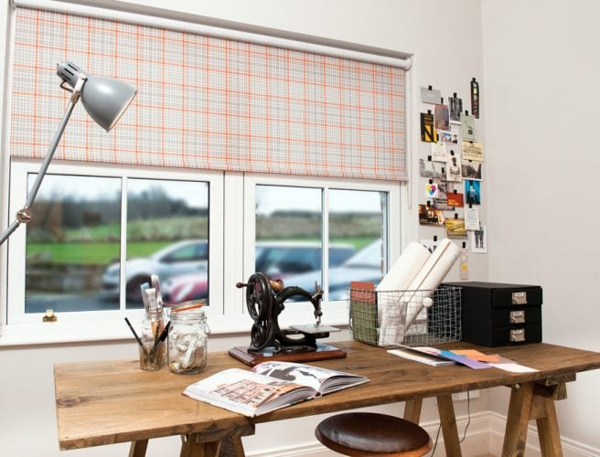 Kintyre fabric for roller blinds