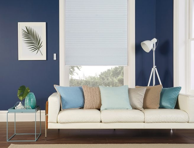Pleated blinds Ritz Birch by Louvolite