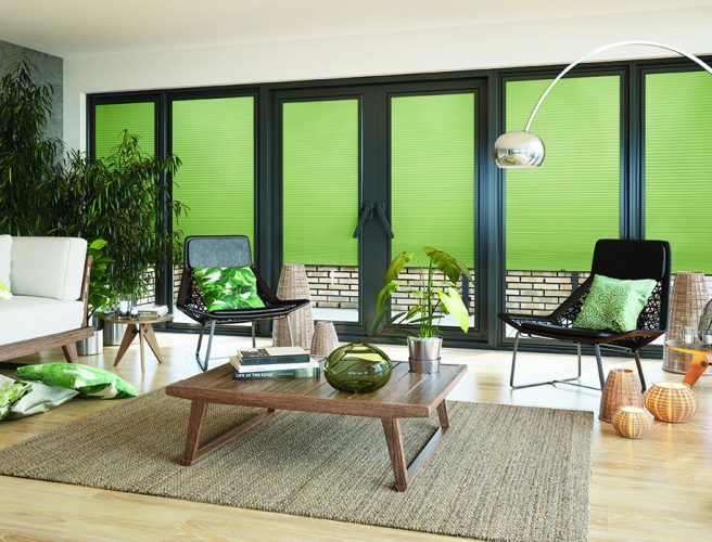 Louvolite Spring Mist Cellular blinds