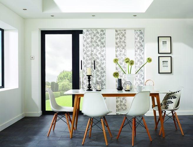 Panel blinds Ayana Black