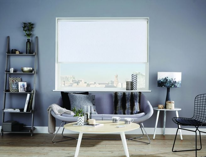 Louvolite 2017 collection for roller blinds: Coral White