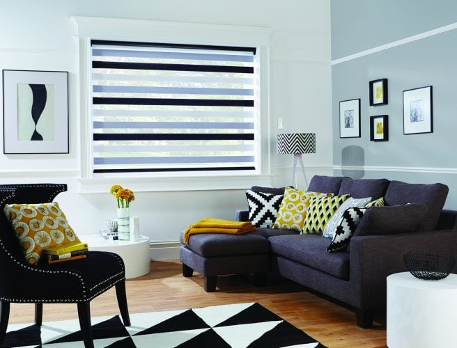 Vision blinds: Sorrento Luna design