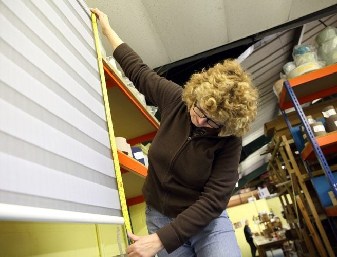 Vision Blinds being made at the Attleborough Factory