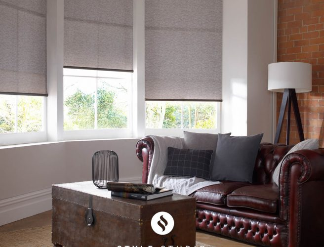 Nordic Truffle Living Room roller Blinds