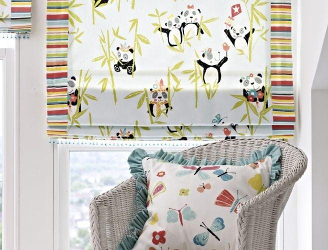 Prestigious playtime fabric for childrens bedroom