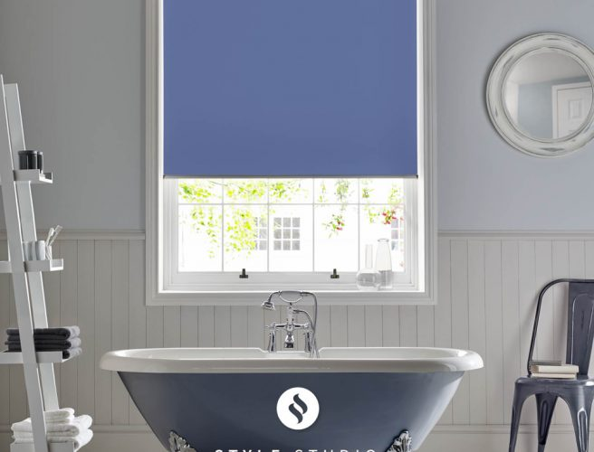 Marina bathroom roller blinds