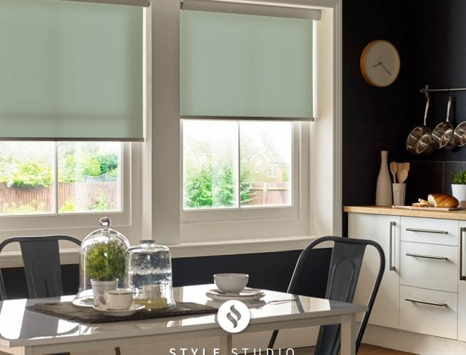 Spring kitchen roller blinds