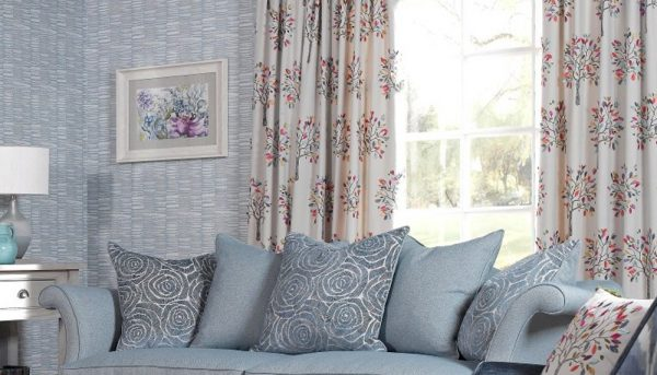 Rashiekas Garden living room curtains