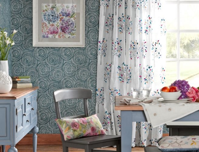 Norwich made to measure curtains using Voyage fabrics
