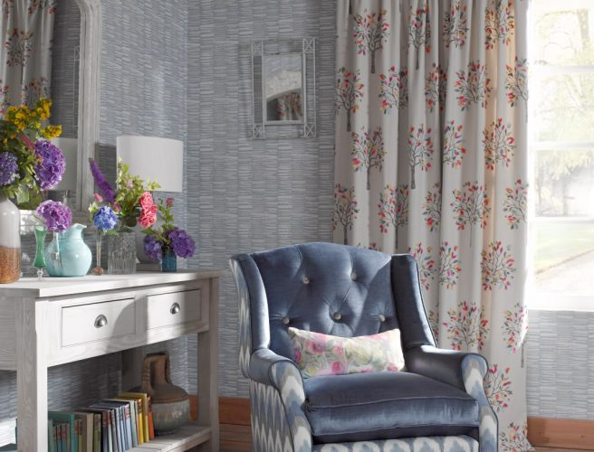 Voyage curtain fabrics from Norwich Sunblinds
