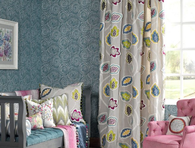 Voyage are one of the Curtain fabric suppliers to Norwich Sunblinds