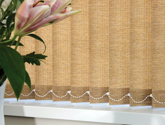 Rainforest fabric for made to measure vertical blinds