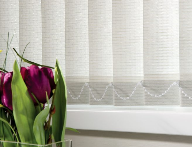 Rainforest fabric for vertical blinds