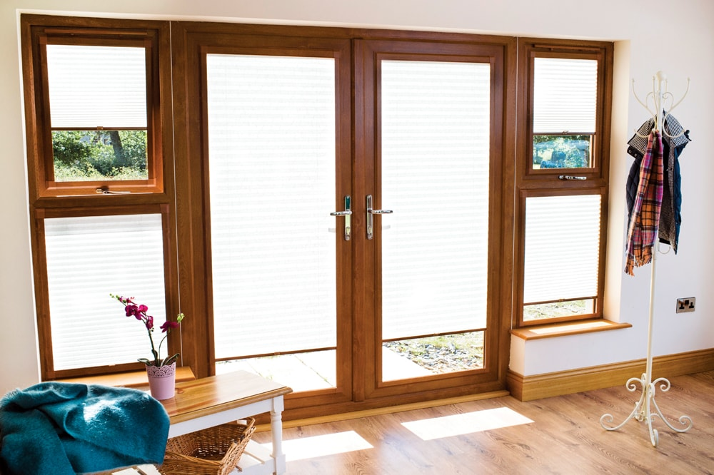 Pleated blinds - Norwich Sunblinds