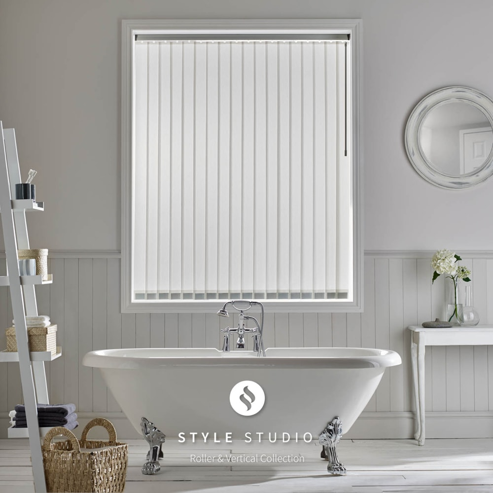 Vertical blinds norwich sunblinds for What type of blinds for bathroom