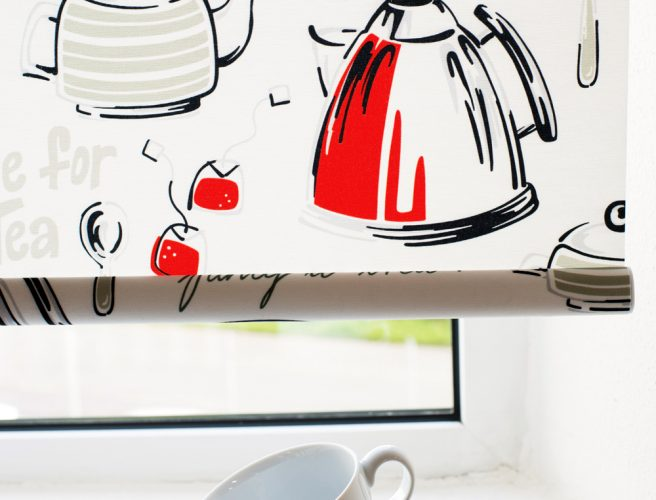 Tea for Two design fabric