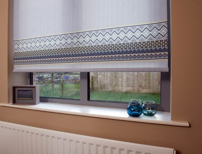 Tribal Roller blind fabric