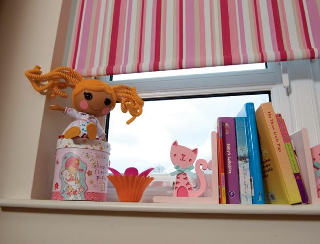 Yoyo fabric for roller blinds