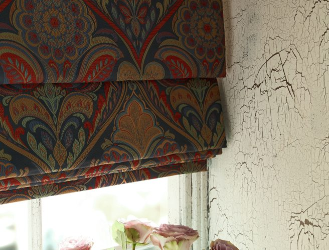 iLiv Cotswold Jewel fabric for roman blinds