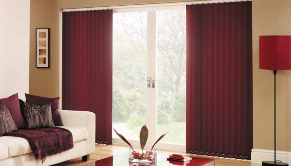 Sliding vertical blinds