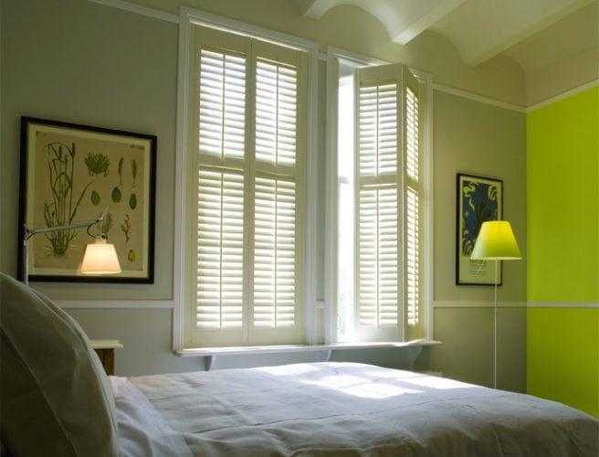 Folding bedrooms shutters