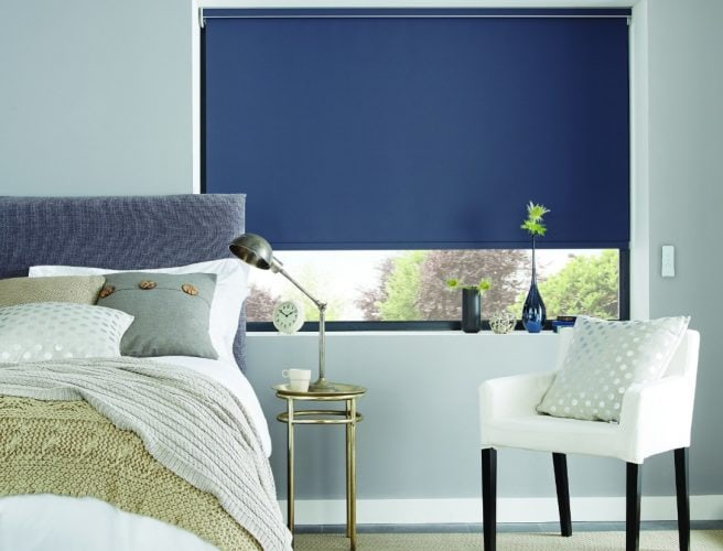 Roller blind with Pollergen coating