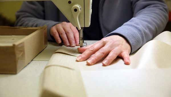 Hand made blinds sewed with a traditional sewing machine - Blinds Norfolk - Norwich Sunblinds